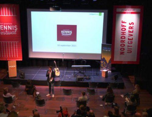 Presentator op Het Grootste Kennisfestival van Nederland